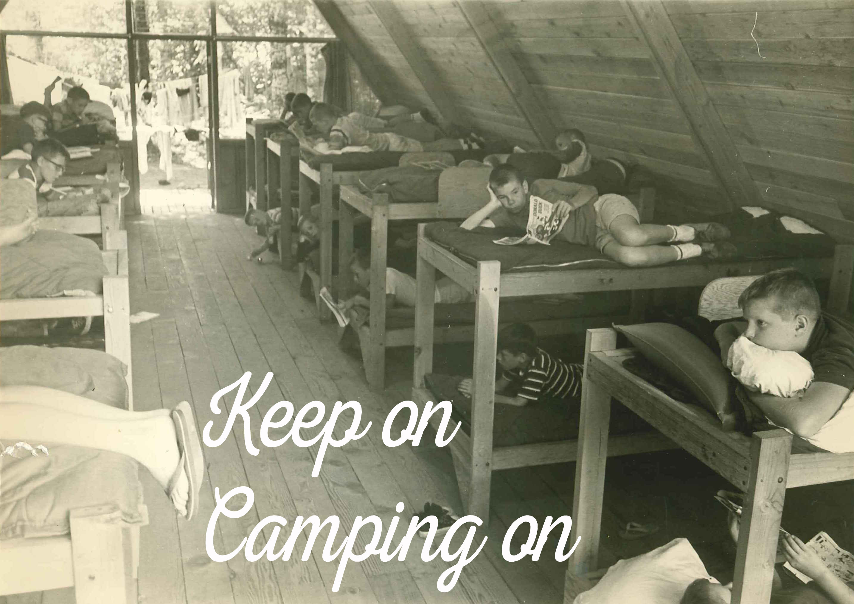 keep on camping